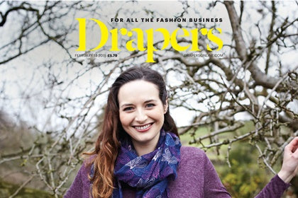 Drapers Magazine Feb 2015 Holly Hastie