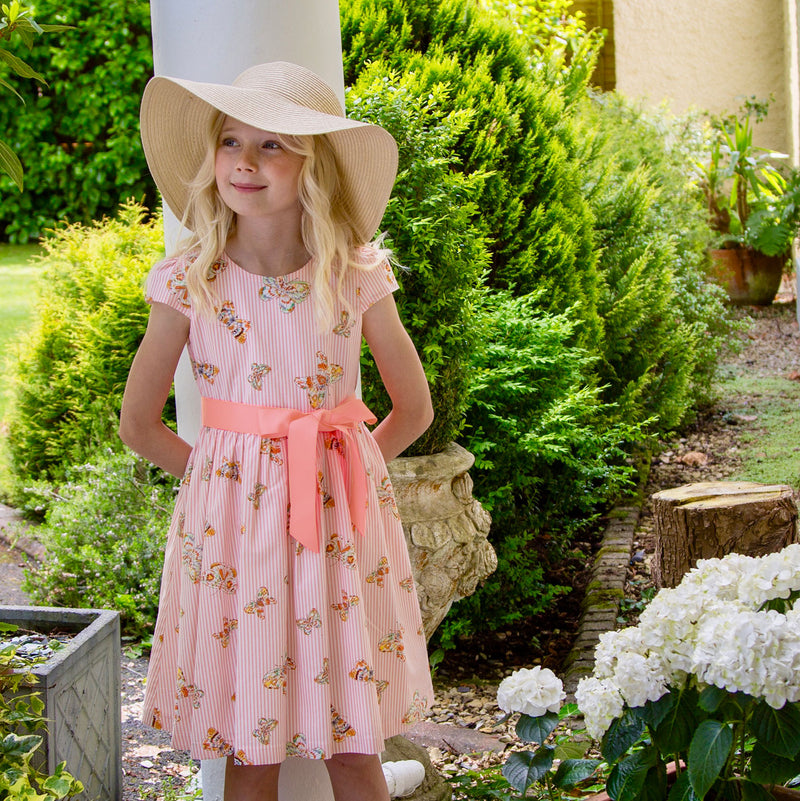 Shop Girls Designer Dresses Cotton Print | Holly Hastie London
