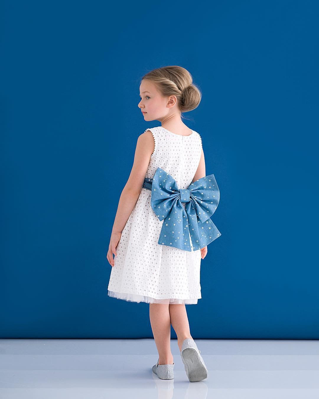 @harlowlunawhite HOLLY HASTIE Girls Designer Dress