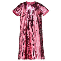 Girls Designer Party Dress Coco Pink Sequin | Holly Hastie London