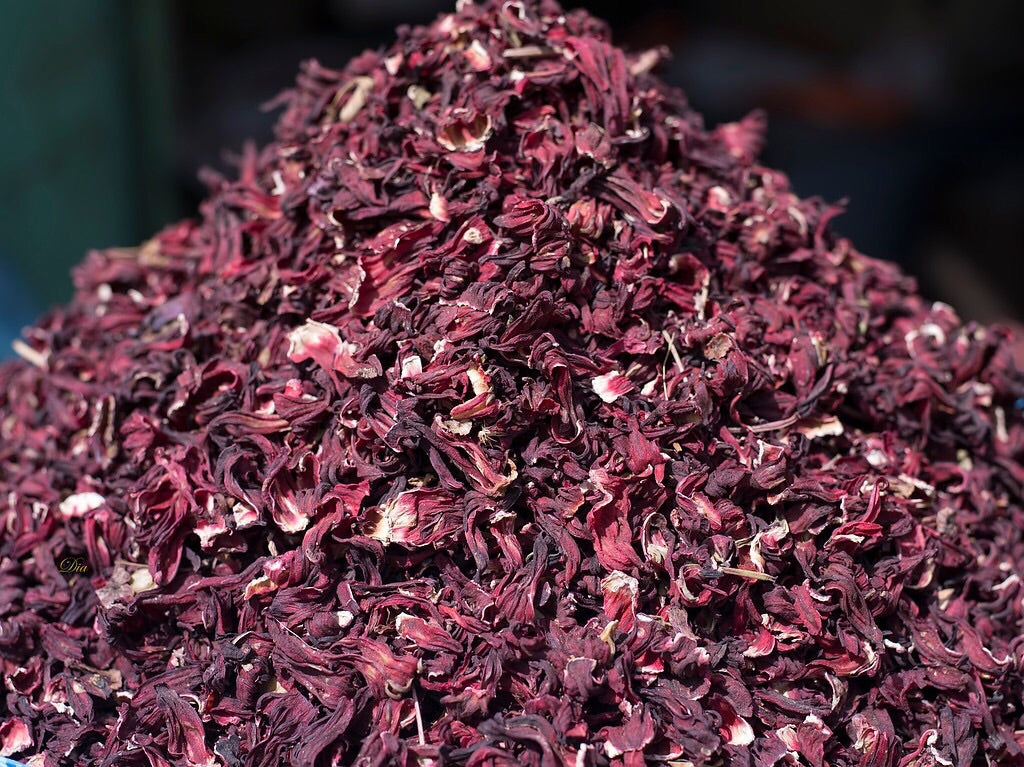 Hibiscus Petals - Dried - All Natural!