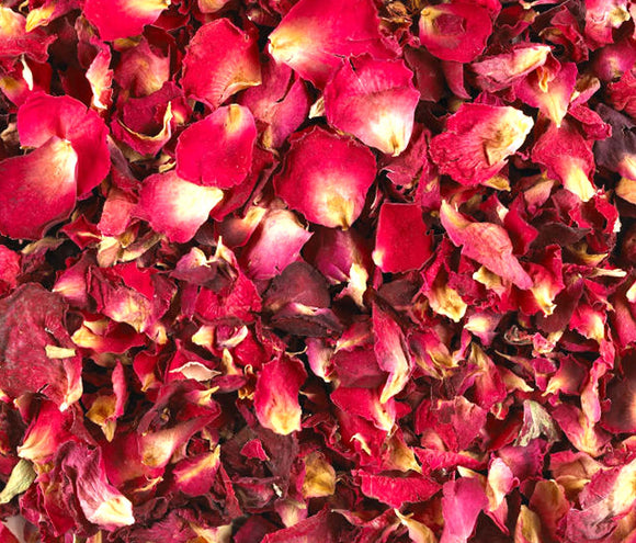 Rose Petals - Dried - All Natural!