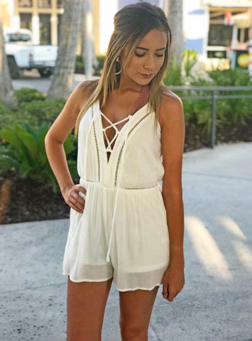 Off the Shoulder Linen Ruffle Dress