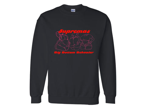 SUPREMA TIE DYE SWEATSHIRT  - RED