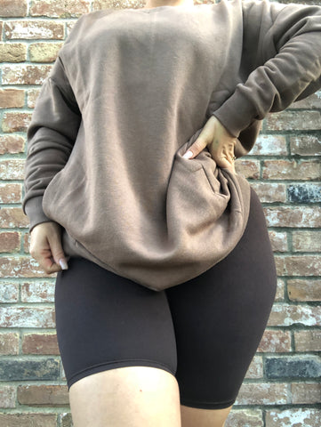 ALL THE WAY UP LEGGING - BLACK