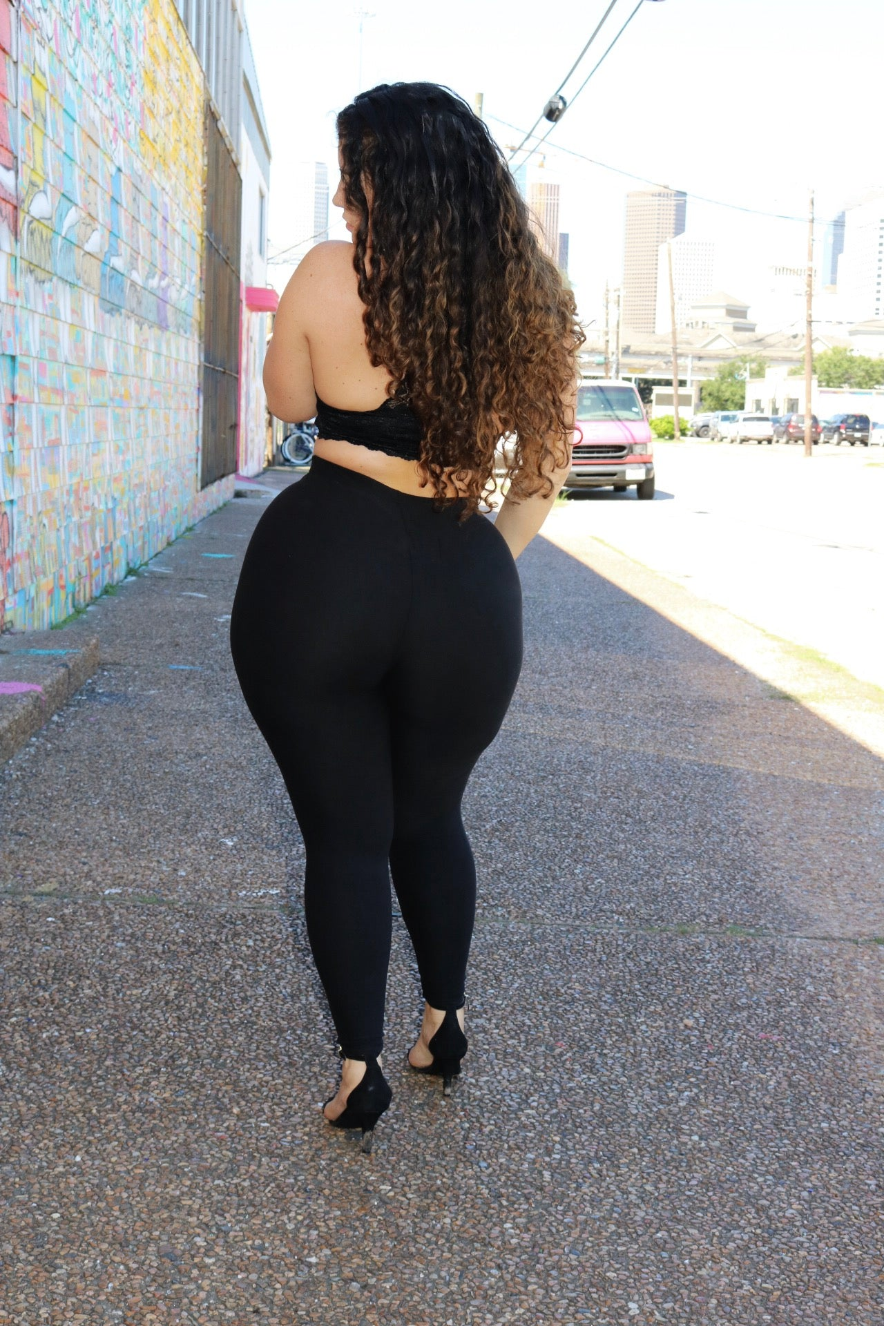 Body Leggings - Black
