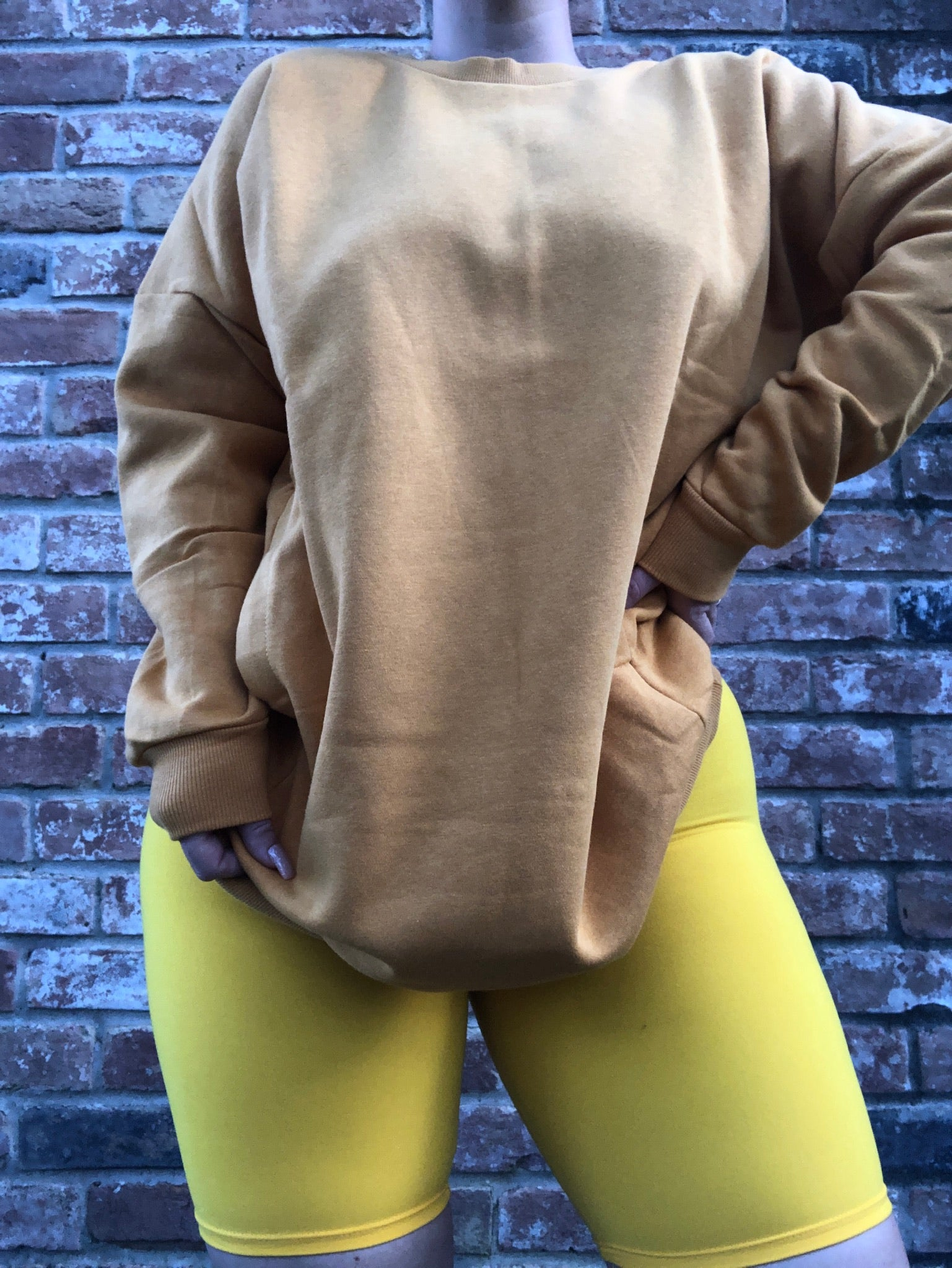 Biker Babe Short - Gold