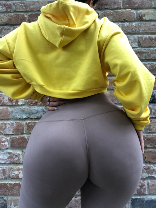 ALL THE WAY UP LEGGING - MOCHA