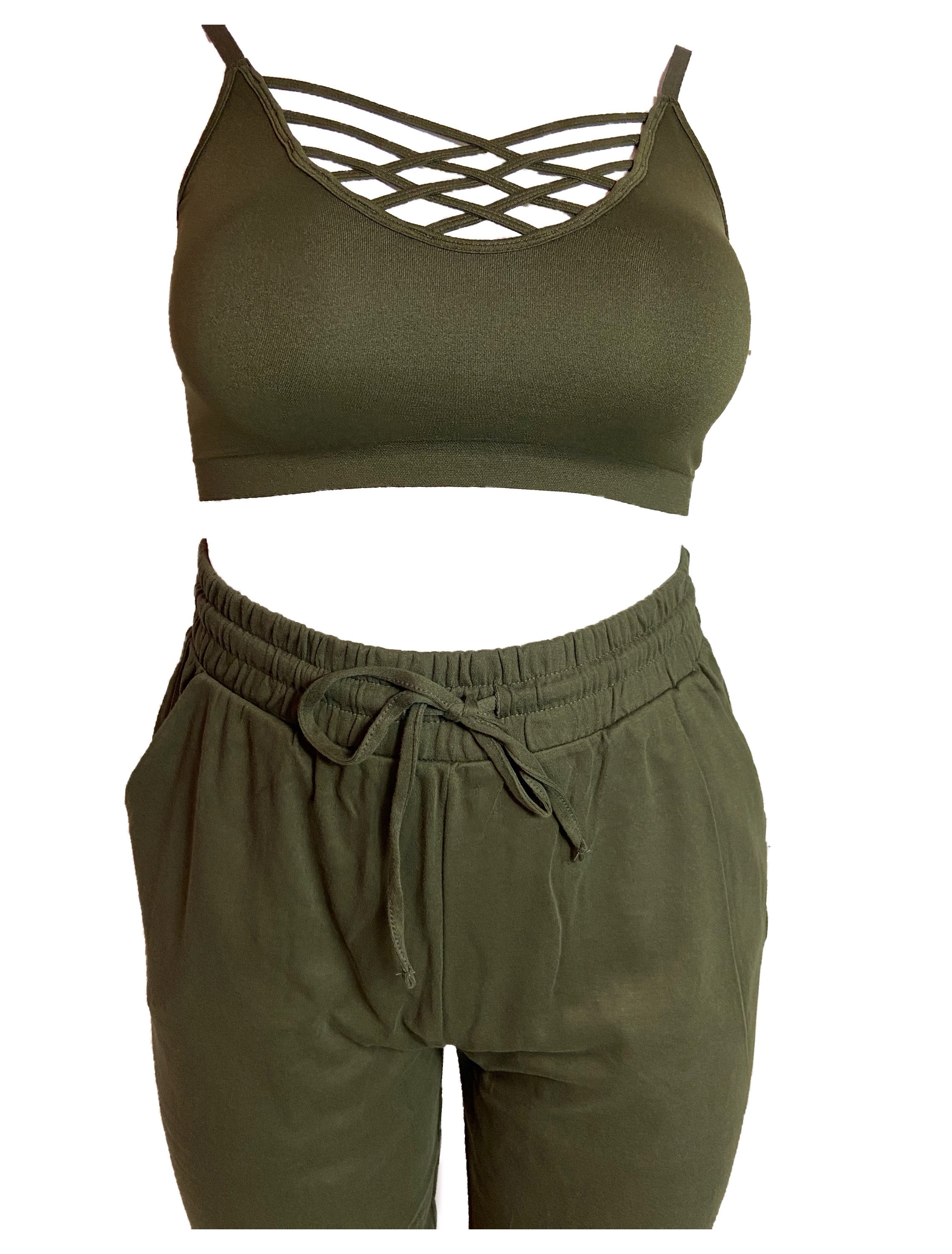 BODY LOUNGE SET - OLIVE