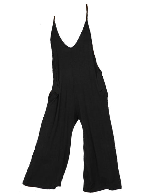 BODY ROMPER - BLACK