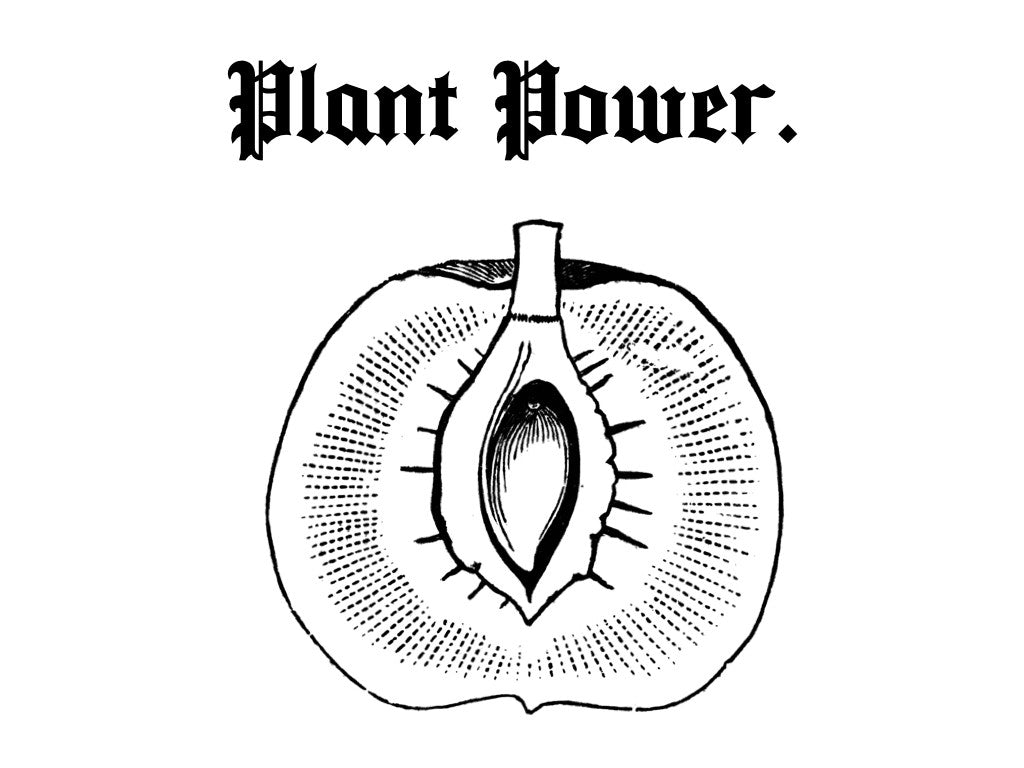 PLANT POWER CROP CREWNECK