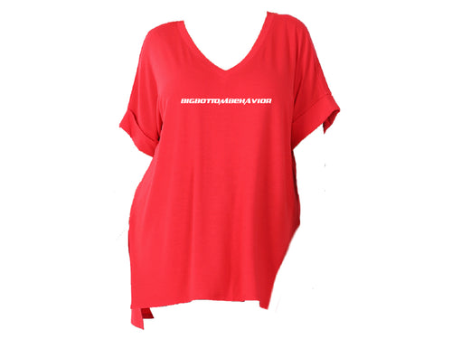 BBB LOUNGE TEE -RED