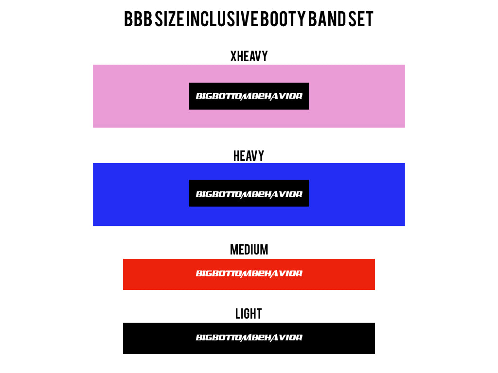 BBB SIZE INCLUSIVE BOOTY BANDS + BOOK PDF