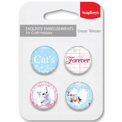 ScrapBerry's Words Live Forever No. 2 CAT Embellishments