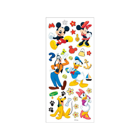 Disney MICKEY & FRIENDS Character Stickers 30pc