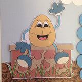 Page Kit (2) 12x12 Scrapbook HUMPTY DUMPTY NURSURY RHYMES - Scrapbook Kyandyland