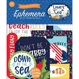 Echo Park UNDER THE SEA Ephemera Die Cut Scrapbooksrus