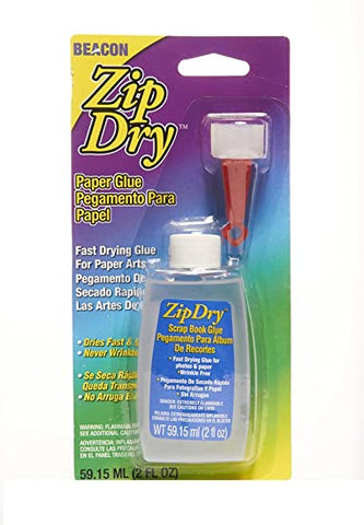 Beacon Zip Dry PAPER GLUE 2oz. Scrapbooksrus