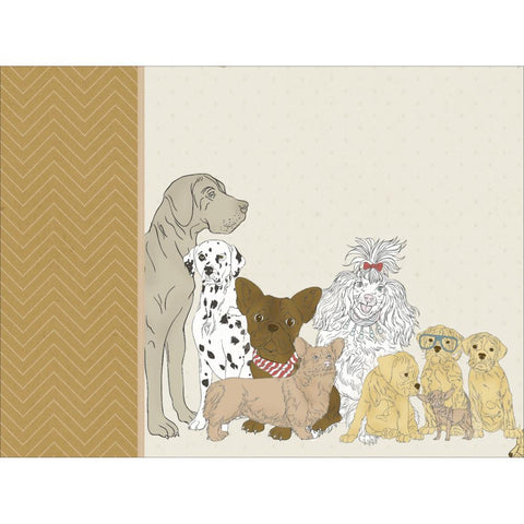 "Kaisercraft PAWFECT DOG 12""X12"" D-Ring Scrapbook Album"