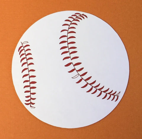 BASEBALL Laser Cuts 1pc Scrapbooksrus