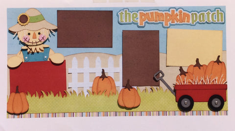 THE PUMPKIN PATCH Scrapbook Kit@ScrapbooksRUs