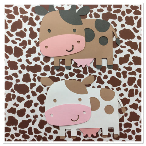 COW Custom Scrapbook Die Cut Embellishment Scrapbooksrus