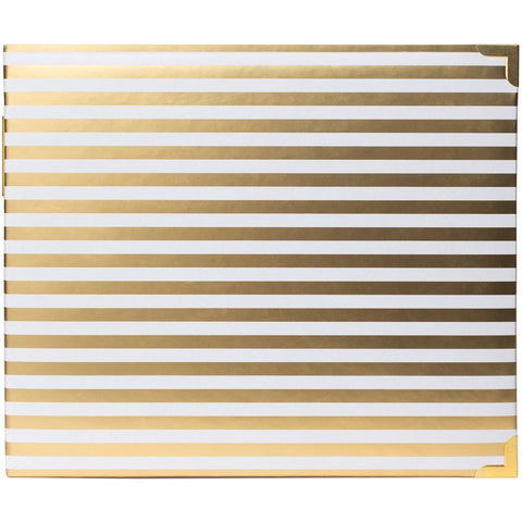 "Project Life DESKTOP EDITION 12""x12"" Stripe D Ring Album Scrapbook Scrapbooksrus"