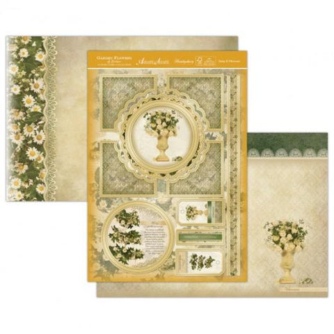 Hunkydory Crafts Garden Flowers Card Kit DAISY & VIBURNUM