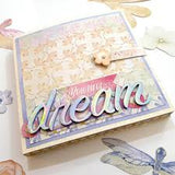 American Crafts Thickers HARMONY Foil Alphabet Letters Scrapbooksrus
