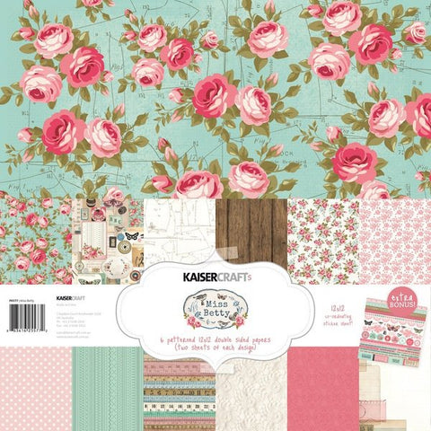 "Kaisercraft MISS BETTY 12""X12"" Paper Pack"