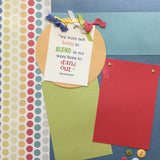 "$5.00 Premade Pages STAND OUT (2) 12""X12"" Scrapbook Pages Scrapbooksrus"