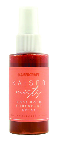 Kaisercraft KAISERMIST ROSE GOLD Iridescent Spray Ink Scrapbooksrus