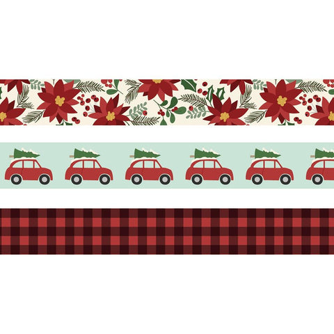 Simple Stories JINGLE ALL THE WAY Washi Tape 50 Ft. Scrapbooksrus