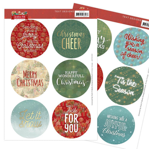 Amy Design CHRISTMAS PETS Text Designs Scrapbooksrus