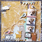 Kaisercraft Hide And Seek WOODS 12X12 Scrapbook Paper Scrapbooksrus