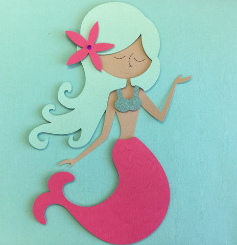 Mermaid Party Decoration Pool Ocean Decor Scrapbooksrus