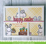 Lawn Fawn HAPPY EASTER LINE BORDER Custom Craft Die