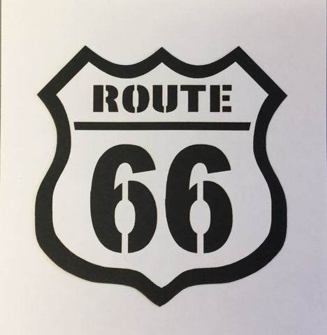 Scrapbook Customs ROUTE 66 Travel Laser Cuts Scrapbooksrus