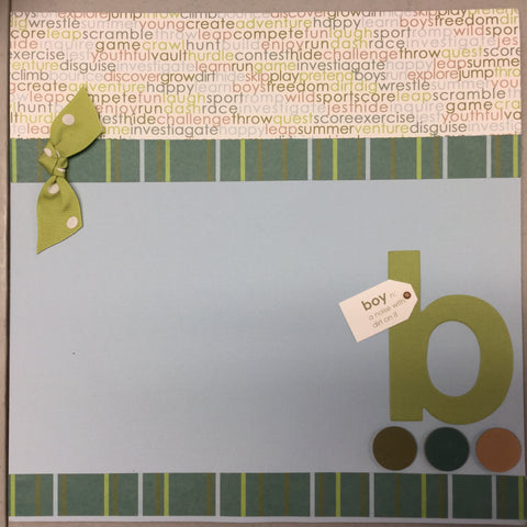 Premade Scrapbook Page Layout 12x12 @Scrapbooksrus