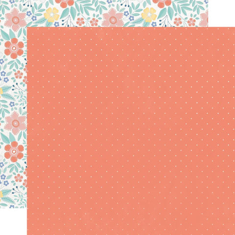 "Kaisercraft Crafternoon Collection BACK STITCH 12""X12"" Scrapbook Paper Scrapbooksrus"