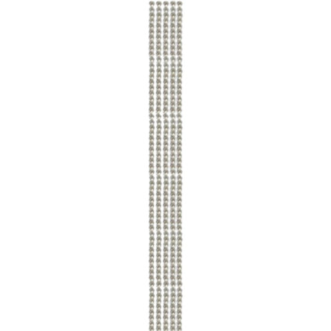 Want 2 Scrap Bling Strips WHITE PEARLS Self Adhesive 12""