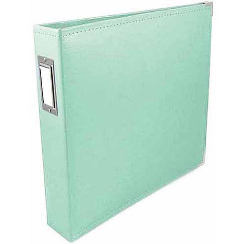 We R Classic Leather Album MINT D Ring Scrapbooksrus