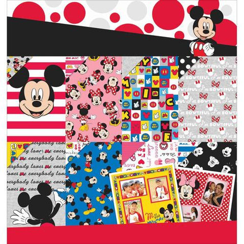 Disney Ek Success MICKEY MOUSE & FRIENDS 12X12 Paper Pad