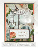 "Kaisercraft  Ooh La La Collection WINDOW 12""X12"" Scrapbook Paper Scrapbooksrus"