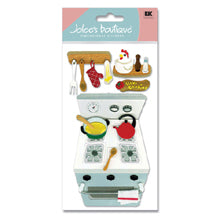 Ek Success Jolee's Boutique COOKING 3D Sticker 4pc