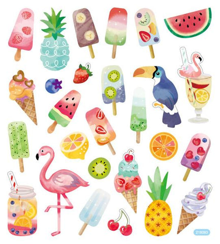 Sticker King SWEET TROPICAL Stickers 27pc