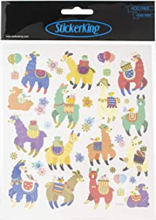 Sticker King LLAMA CELEBRATION Stickers 30pc. Scrapbooksrus