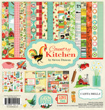 "Echo Park COUNTRY KITCHEN 12""x12"" 13pc COLLECTION KIT Scrapbooksrus"