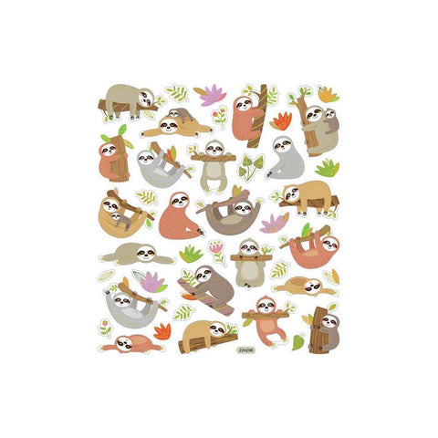 Sticker King SLOTH Stickers 45pc. Scrapbooksrus