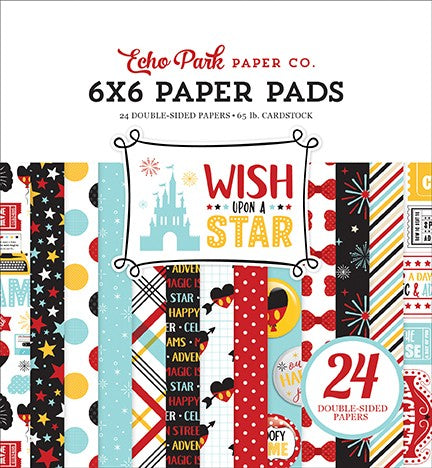 "Echo Park WISH UPON A STAR  6""X6"" Paper Pad 24pc"